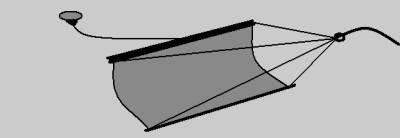 как сделать водный парус для торможения лодки видео